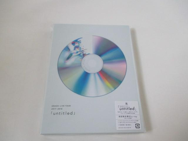 DVD/Blu-ray LIVE TOUR 2017-2018「untitled」 初回限定盤