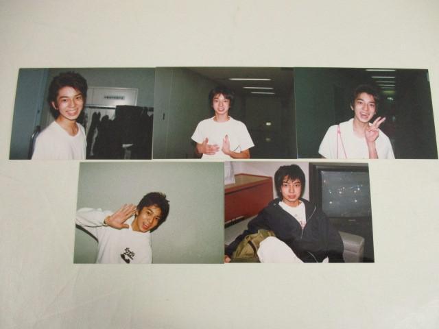 嵐 松本潤 公式写真 ファミリークラブ ファミクラ Jr.時代 5枚 kodak