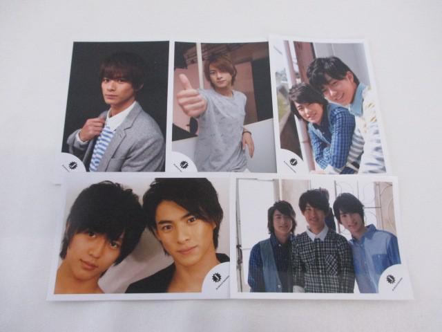 King & Prince 平野紫耀 公式写真 5枚 Jr.時代 オフショット 生写真 ジャニショ