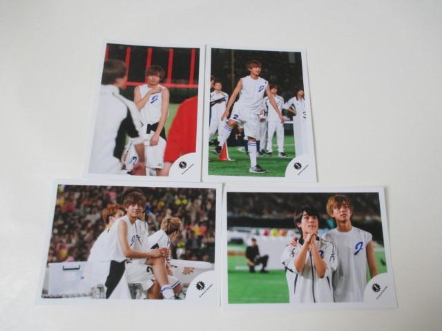 King & Prince 永瀬廉 公式写真 4枚 ジャニーズ大運動会 生写真 ジャニショ オフショット