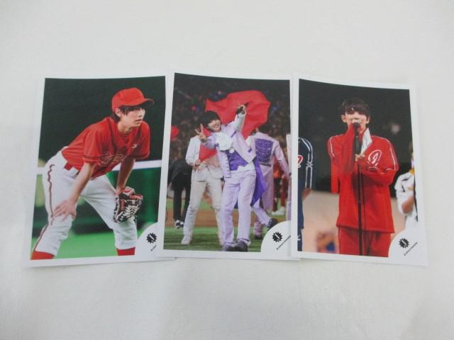 King & Prince 岩橋玄樹 公式写真 3枚 ジャニーズ大運動会 生写真 ジャニショ オフショット
