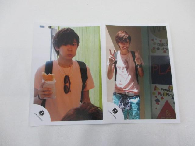 King & Prince 神宮寺勇太 公式写真 2枚 ハワイ Jr.時代 生写真 ジャニショ オフショット
