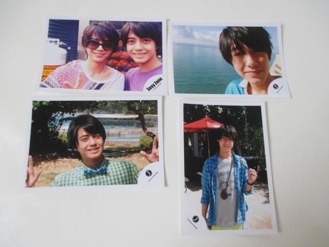 King & Prince 高橋海人 公式写真 4枚 ハワイ Jr.時代 生写真 ジャニショ オフショット