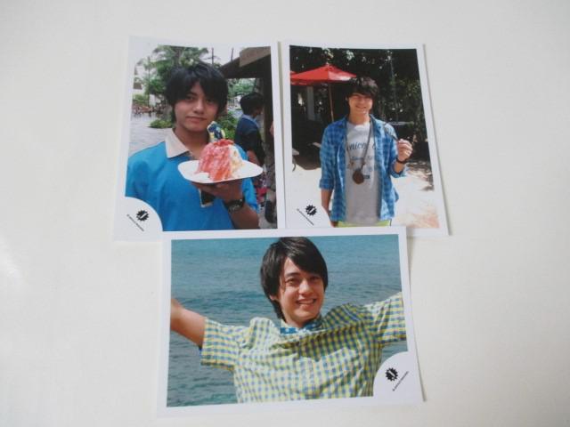 King & Prince 高橋海人 公式写真 3枚 ハワイ Jr.時代 生写真 ジャニショ オフショット