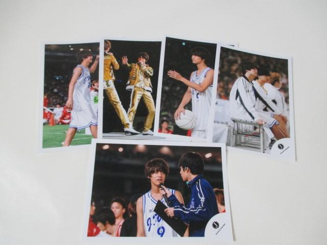 King & Prince 高橋海人 公式写真 5枚 ジャニーズ大運動会 生写真 ジャニショ オフショット