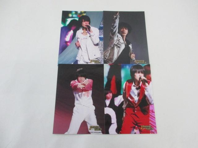 King & Prince 岸優太 公式写真 4枚 JOHNNYS' 2020 World フォトセット